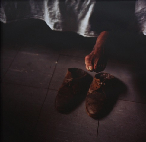 , 'Pés do Artista,' 1994, Galeria Filomena Soares