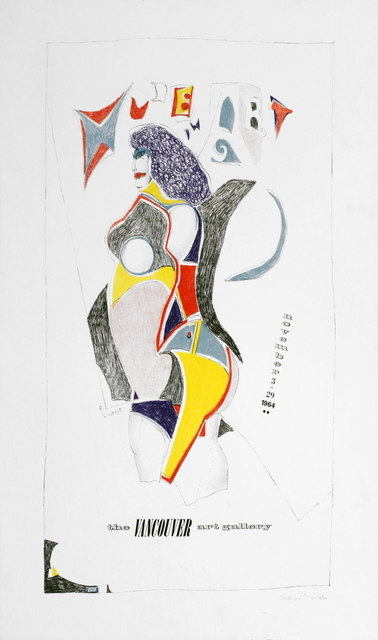 Richard Lindner, 'Vancouver Art Gallery', 1964, ArtWise