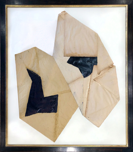 Jean-Pierre Bourquin, 'Untitled Folded Paper', 2018, TEW Galleries
