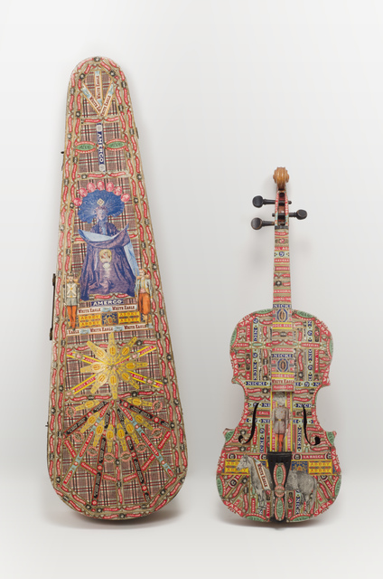 , 'Untitled (Violin & case),' 1920-1960, Fleisher/Ollman