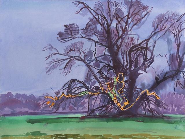 , 'Monumental Tree Series XVII - Serena's Tree: Millennium Tree,' 2000, New York Studio School