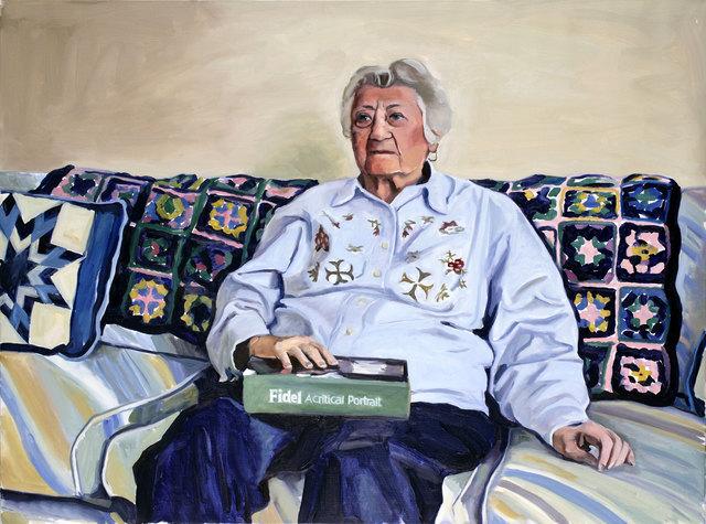 Yevgeniy Fiks, 'Portrait of Estelle Katz (Communist Party USA)', 2007, Winkleman Gallery