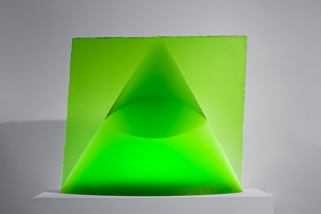 , 'Green Eye of the Pyramid,' 1993, Glasgalerie Stölting
