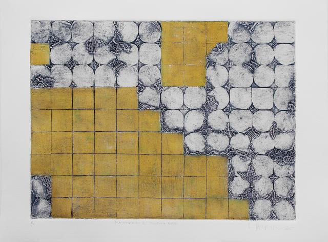 , 'Pattern 2 Yellow + Blue,' 2015, Geary