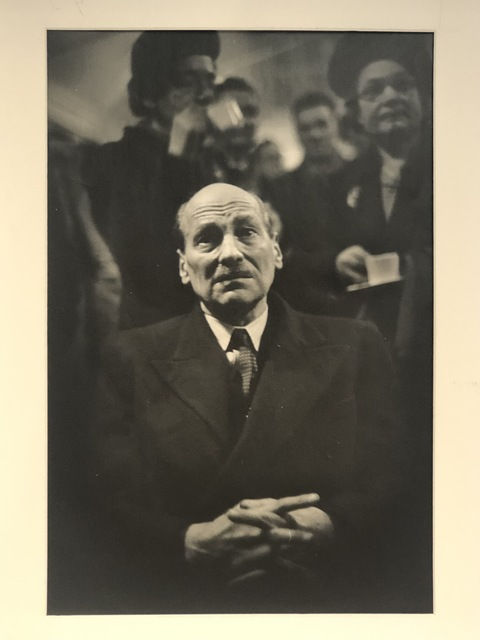 W. Eugene Smith, 'PM Clement Attlee watching election night ', 1950, Anders Wahlstedt Fine Art