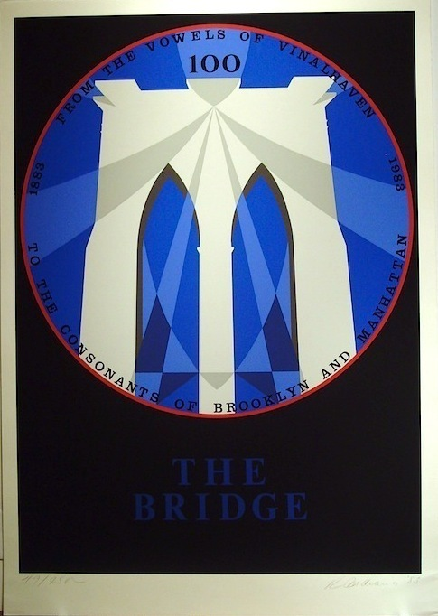 Robert Indiana, 'The Bridge,' 1983, Vertu Fine Art