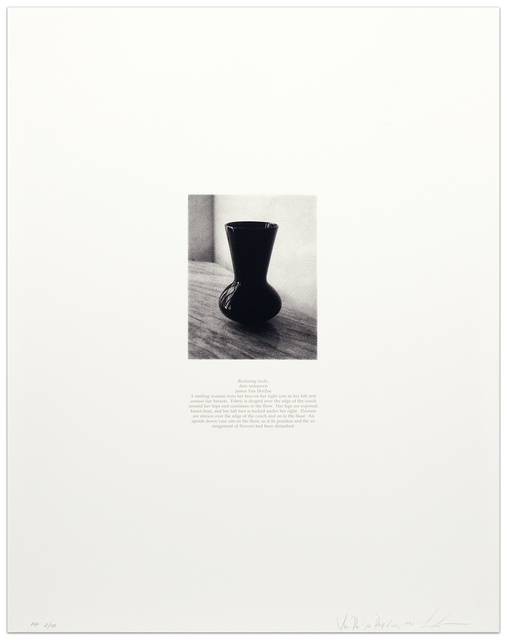, 'Van Der Zee Prop Vase,' 1993, Krakow Witkin Gallery