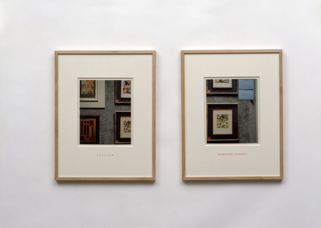 , 'Collage/Schwitters/Sotherby's,' 1990, Galerie Isabella Czarnowska