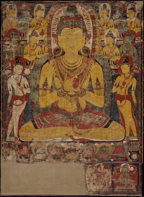 , 'The cosmic Buddha Vairochana,' ca. 1100-1200, Asian Art Museum