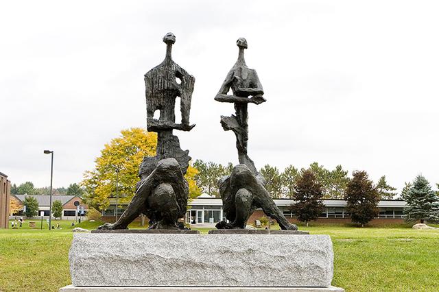 , 'The Meditators,' 2006, International Sculpture Center