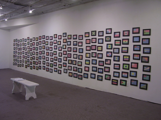 , 'INOCULATE, installation view,' 2014, Amos Eno Gallery