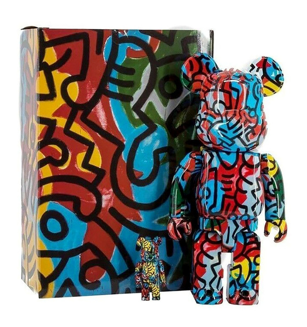 Keith Haring, 'Keith Haring Bearbrick 400% Companion (Haring BE@RBRICK)', 2018, Lot 180