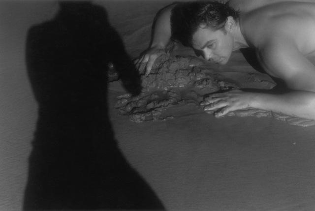 , 'Hugo and my shadow, Coney Island,' 2008, Galerie Dina Vierny