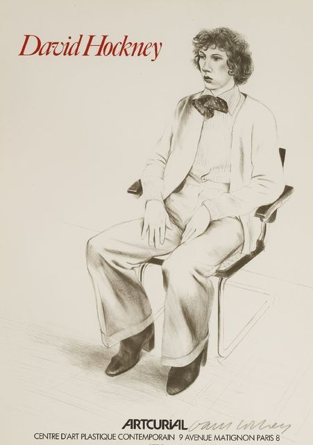 David Hockney, 'Gregory Evan', 1979, Sworders