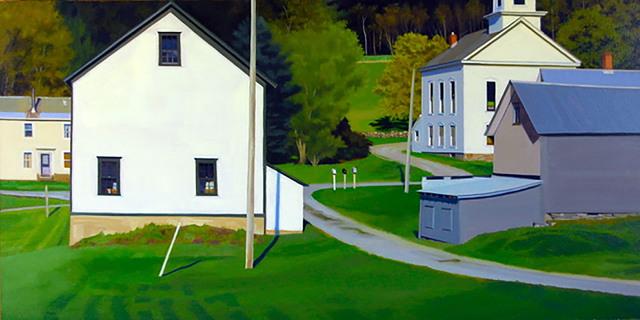 , 'Village Spring,' 2019, Eckert Fine Art