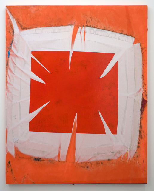 , 'Red On Orange (Fall 2016 – Spring 2017) six-month exposure/Oakland,' 2017, Romer Young Gallery