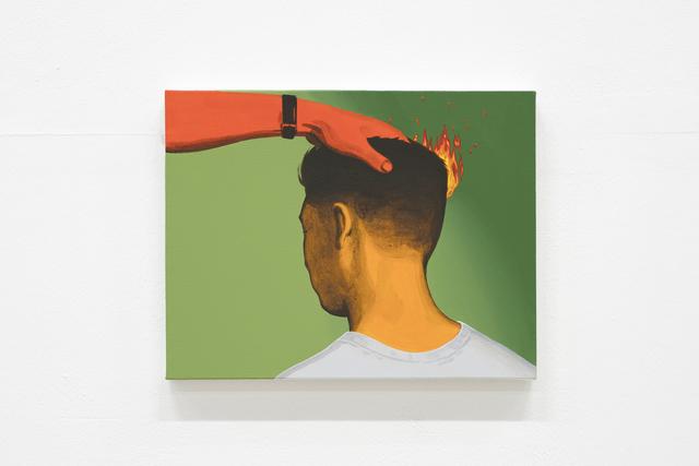 , 'Burning Charcoal on Your Head,' 2017, Hakgojae Gallery