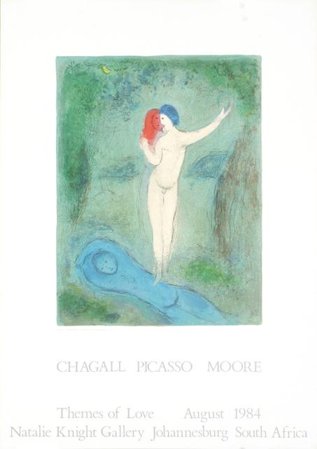 Marc Chagall, 'Chloe's Kiss', 1984, Ephemera or Merchandise, Offset Lithograph, ArtWise