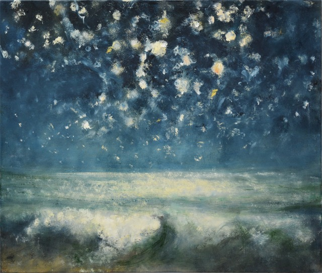 , 'Sea and Stars at Night I,' 2015, Marlborough London