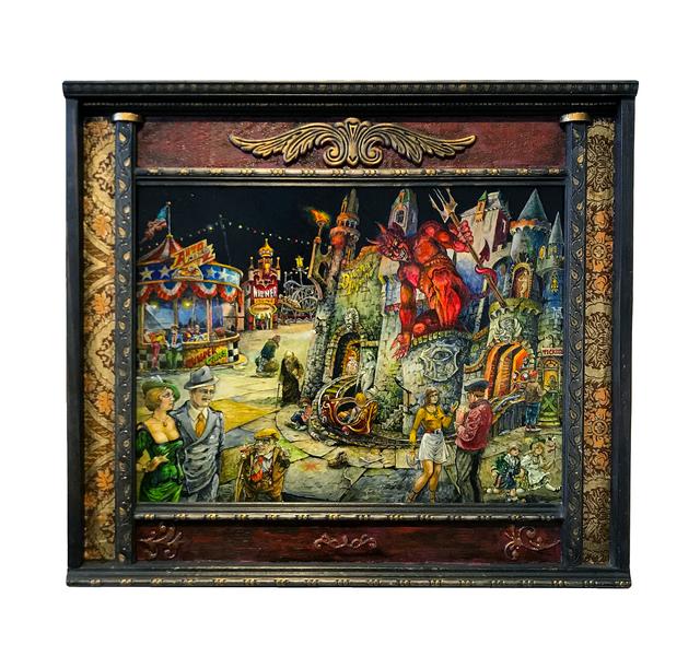 , 'Dante's Inferno,' 2018, La Luz de Jesus Gallery
