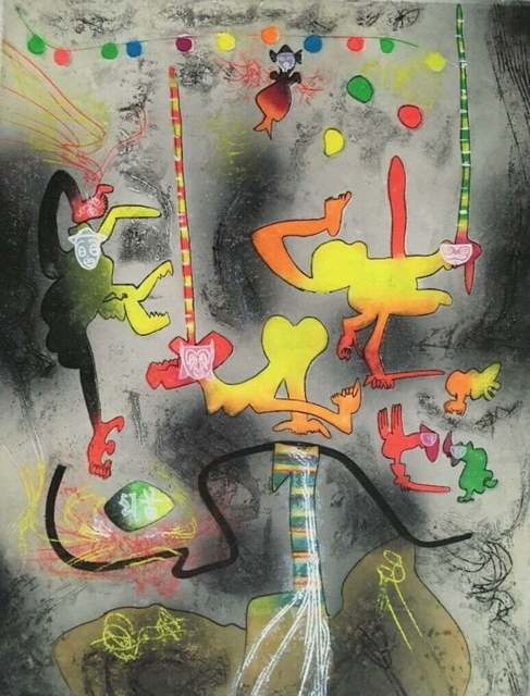 Roberto Matta, 'Carnamont VI', 1979, Print, Etching & Aquatint on Arches paper, Art Commerce