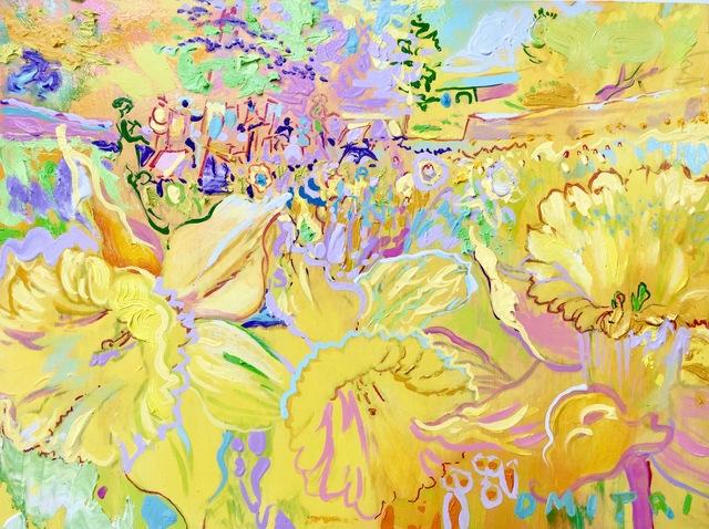 Dmitri Wright, 'Daffodils Yellow V', 2018, Isabella Garrucho Fine Art