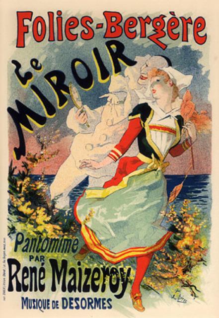 Jules Chéret, 'Le Miroir', 1895-1900, Galerie d'Orsay
