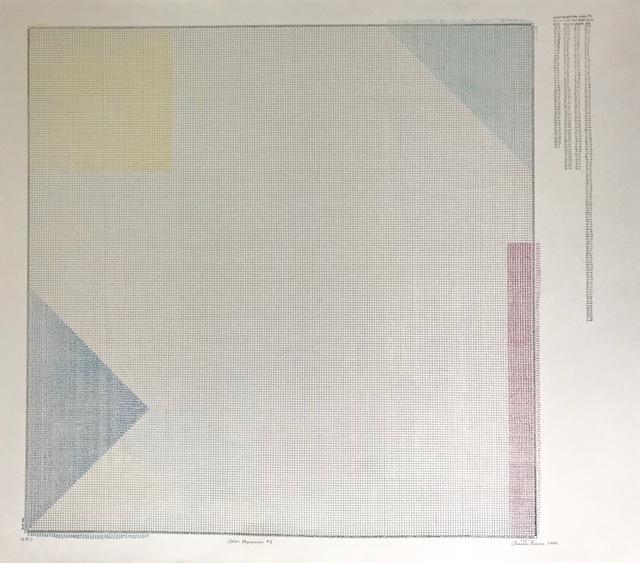 , 'COLOR REGRESSION # 1 ,' 1980, Brigitte March International Contemporary Art