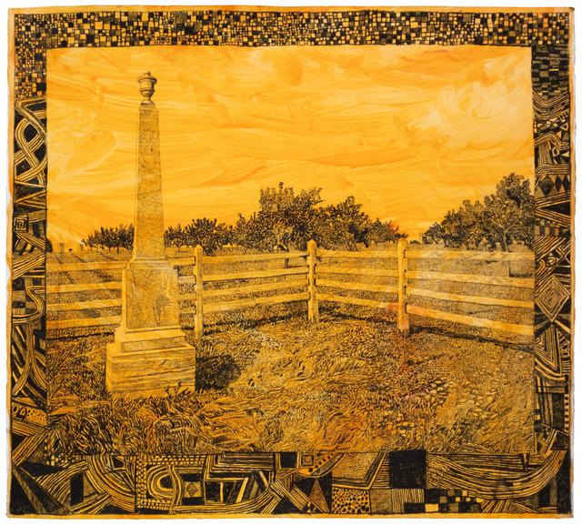 , '68th PA, Peach Orchard, Gettysburg, August 2015,' 2015, Fleisher/Ollman