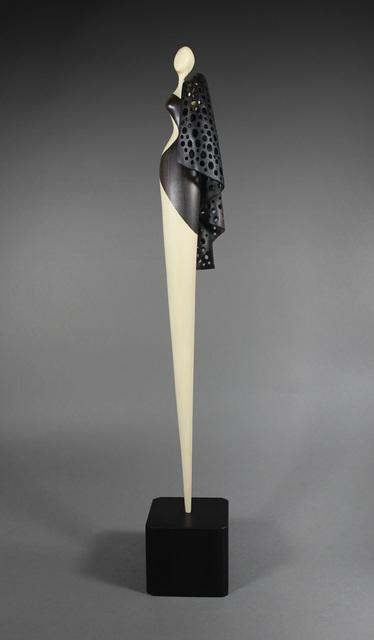 , 'Lady with a Black Shawl,' 2016, Wood Symphony Gallery