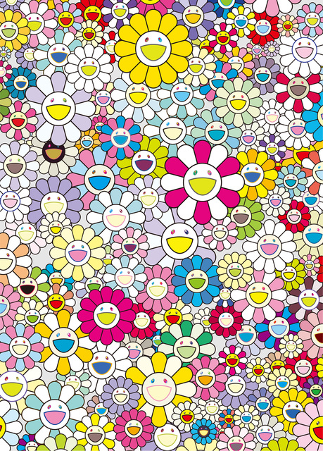 Takashi Murakami, 'A Homage to Yves Klein, Multicolor', 2012, EHC Fine Art Gallery Auction