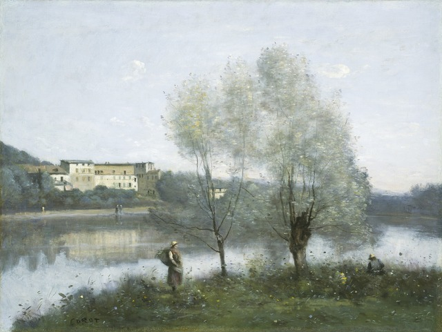 Jean-Baptiste-Camille Corot, 'Ville-d'Avray', ca. 1865, Painting, Oil on canvas, National Gallery of Art, Washington, D.C.