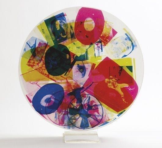 Robert Rauschenberg, 'Passport', 1967, Mixed Media, Screenprint on three plastic discs, Vertu Fine Art
