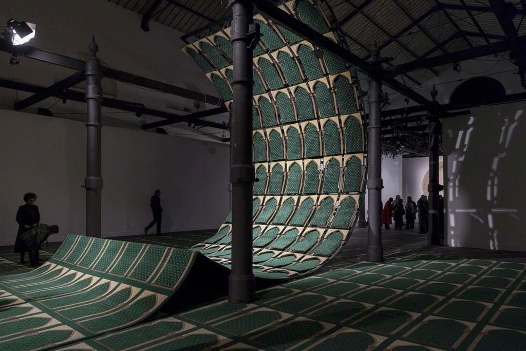 "Installation shot exhibition ""Points of Perception""- Museum of Contemporary Art Rome, Faig Ahmed"