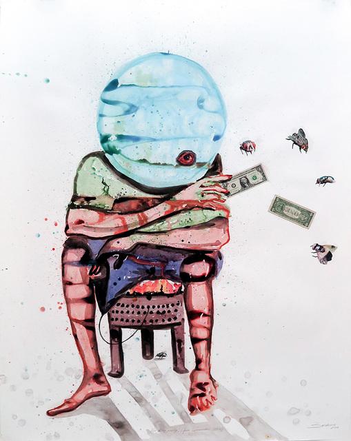 , 'No dirty money !,' 2015, Magnin-A