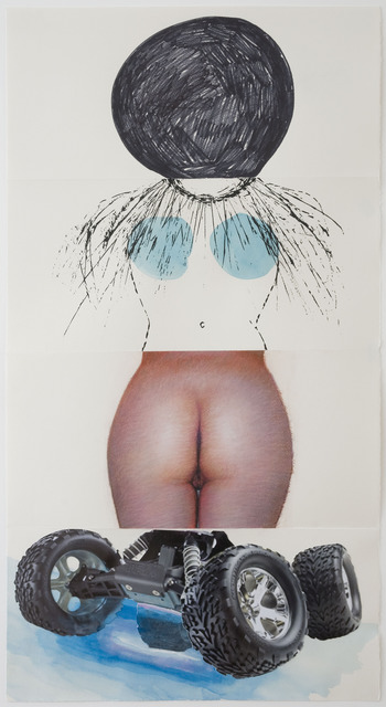 Aleksandra Mir, Carrie Moyer, Paul Jacobsen, and Camille Norment, 'Exquisite Corpse 100,' ca. 2011, Mana Contemporary