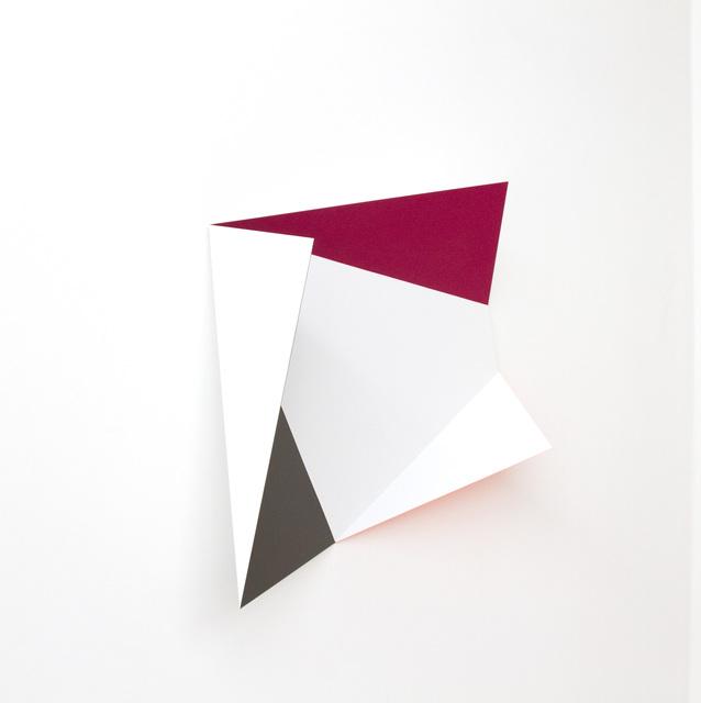 Rana Begum, 'No. 330 - Fold', 2012, Sculpture, Paint on mild steel, BISCHOFF/WEISS