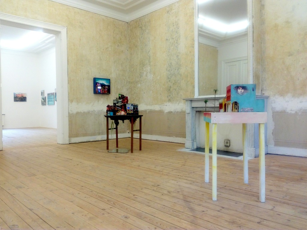 Installation view, Tracey Snelling