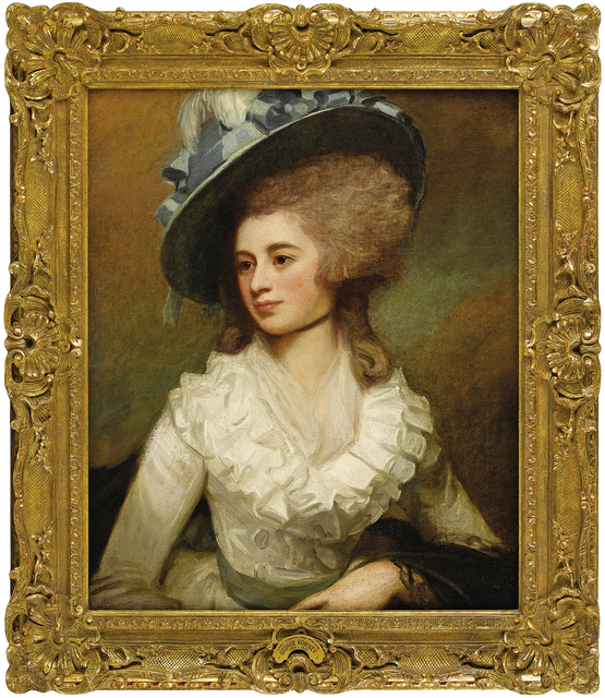 , 'Portrait of Lady Caroline Price,' 1774, Robert Funk Fine Art