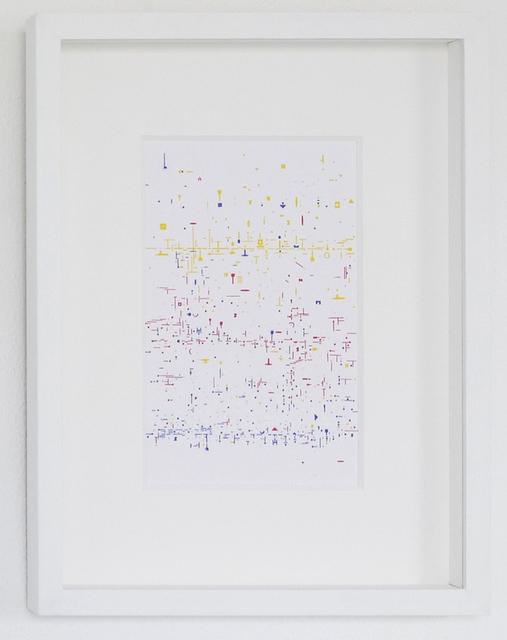 , 'Verbos Irregulares (White),' 2017, Galería del Paseo