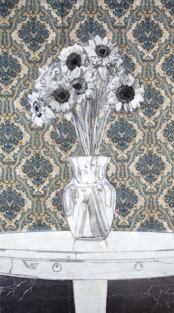 , 'Sunflowers (Drawing),' 2014, De Re Gallery