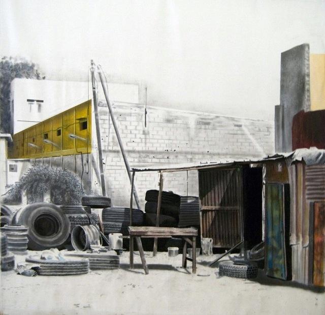, 'Tableau Ferraille #2,' 2016, Galerie Cécile Fakhoury - Abidjan