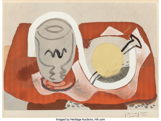 Georges Braque, 'Still life with lemon', 1934, Heritage Auctions