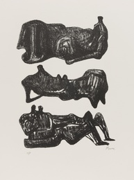 Henry Moore, 'Three Reclining Figures (Cramer 301),' 1973, Forum Auctions: Editions and Works on Paper (March 2017)