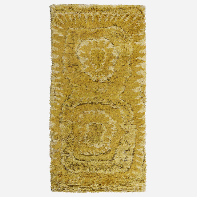 Viola Grasten, 'Solros pile carpet', c. 1950, Wright