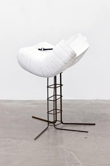 , 'Sans titre (boîtes MacDonald blanches),' 2012, Galerie Thomas Bernard