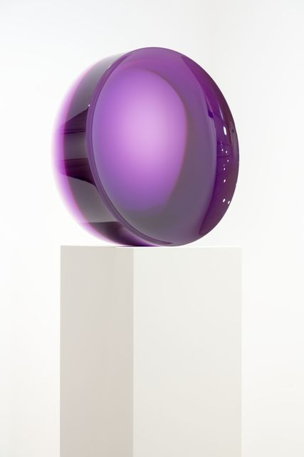 , 'Concave Circle, Purple,' 1968-2016, Almine Rech Gallery