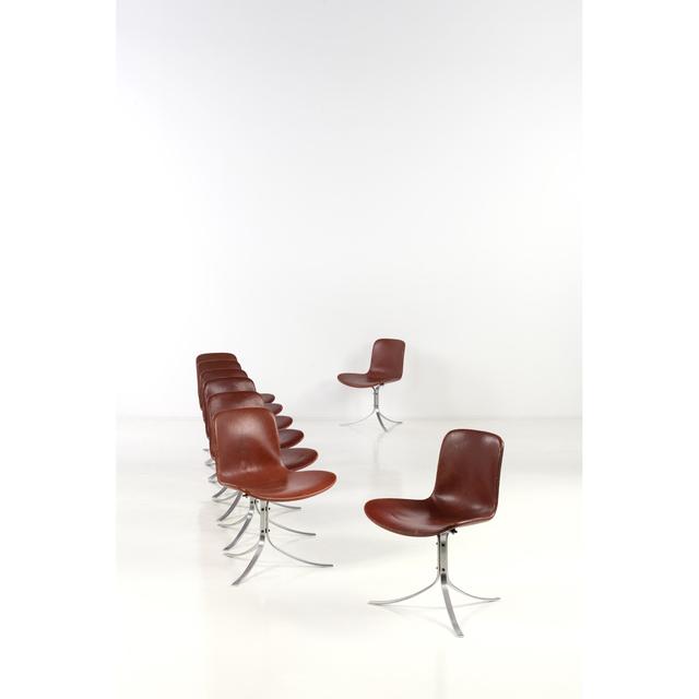 Poul Kjærholm, 'PK9 Set of eight chairs', PIASA