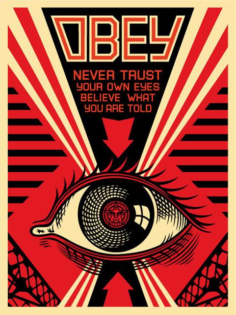 Shepard Fairey, 'Eye Alert', 2007, EHC Fine Art