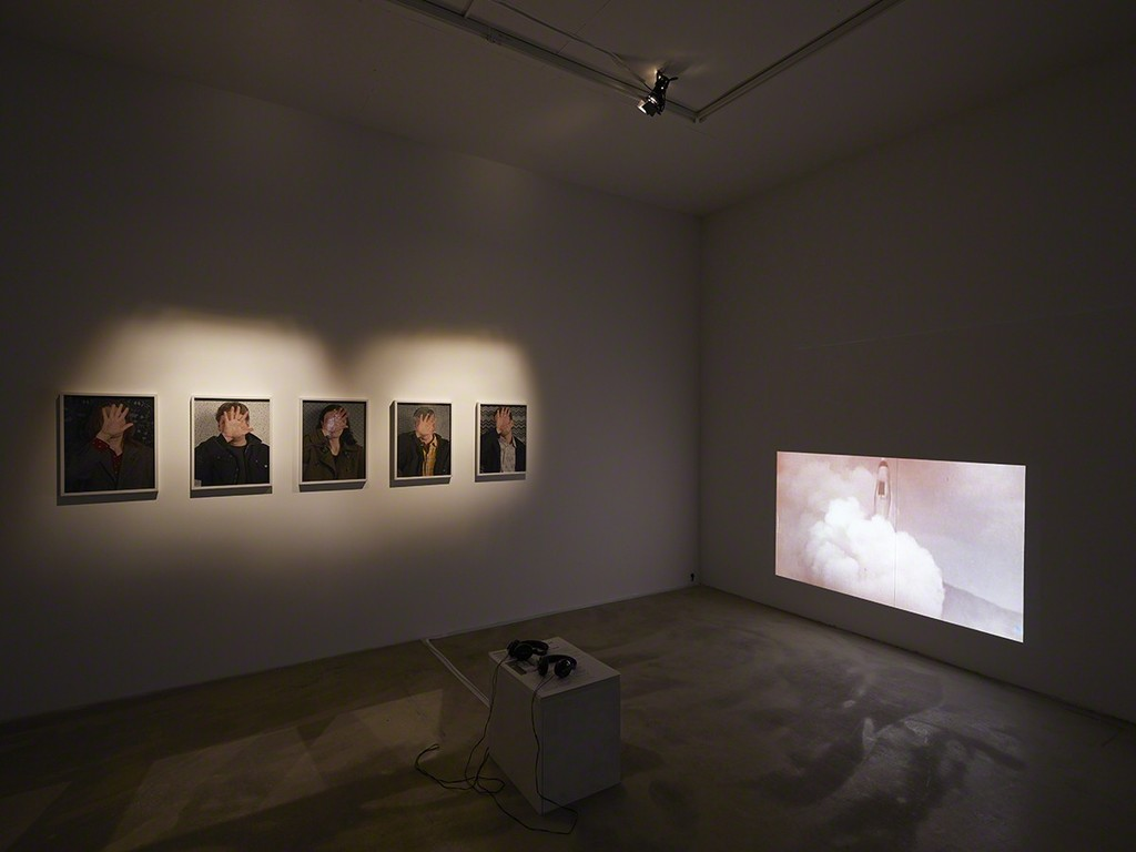 Who's speaking, 2015, Peggy Buth, exhibition view at Klemm's, Berlin
